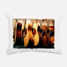 Guitars Rectangular Canvas Pillow