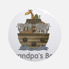 grandpas boy ark Round Ornament