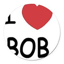 BOB01 Round Car Magnet