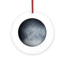 Pluto Planet Christmas Tree Ornament (Round)