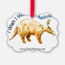 Aardvark t-shirt Ornament