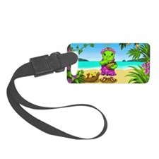 Jazzy with background Luggage Tag