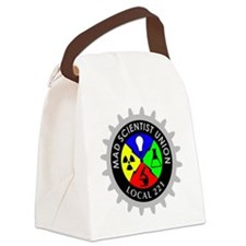 mad_scientist_union_logo_dark Canvas Lunch Bag