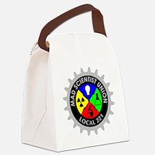 mad_scientist_union_logo_dark Canvas Lunch Bag