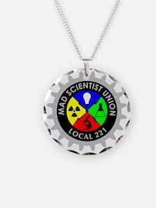 mad_scientist_union_logo_dar Necklace