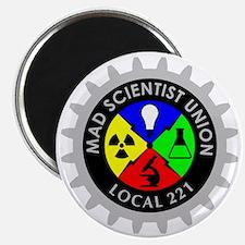 mad_scientist_union_logo_dark Magnet