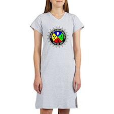 mad_scientist_union_logo_dark Women's Nightshirt