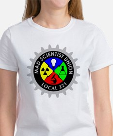 mad_scientist_union_logo_dark Tee