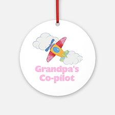 copilot girl Round Ornament
