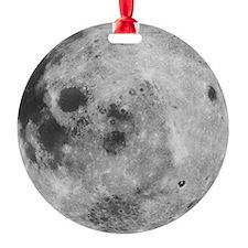 Moon Planet Christmas Tree Ornament