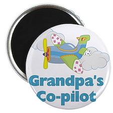 grandpas copilot Magnet