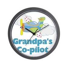 grandpas copilot Wall Clock