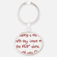 Picture10 Oval Keychain