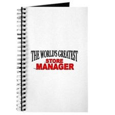 """The World's Greatest Store Manager"" Journal"