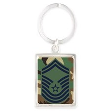 USAF-CMSgt-Old-Journal-6 Portrait Keychain