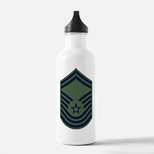 USAF-CMSgt-Old-Green Water Bottle