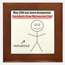 mohammedday01 Framed Tile