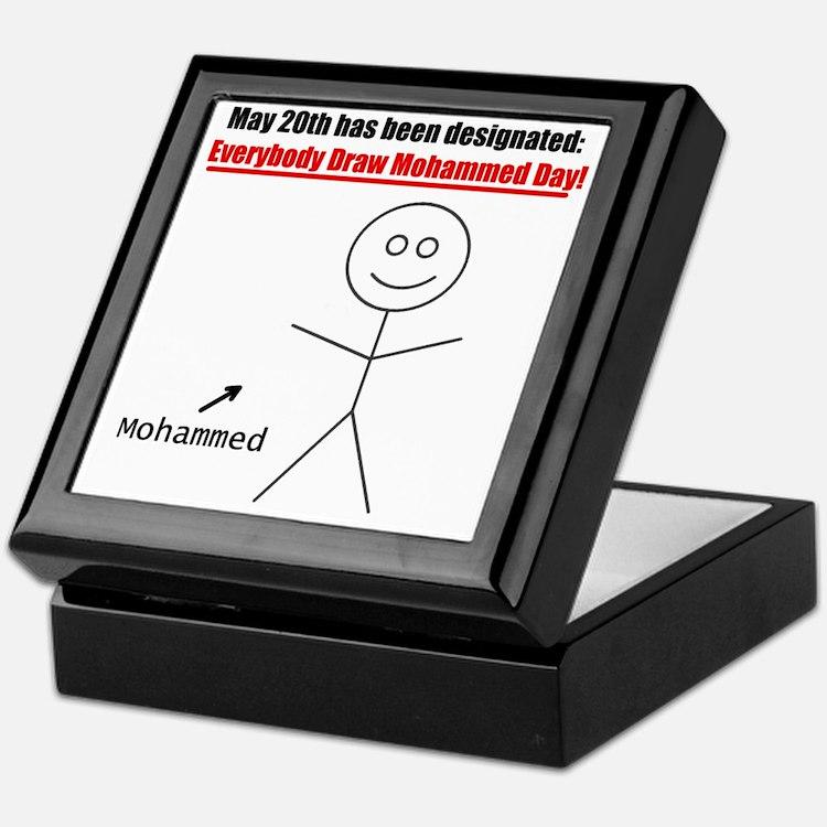 mohammedday01 Keepsake Box