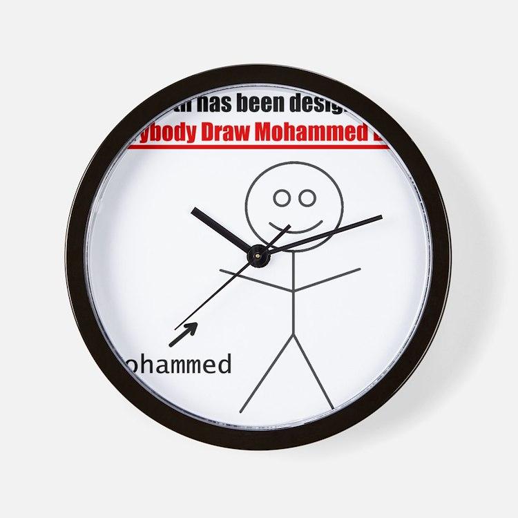 mohammedday01 Wall Clock