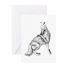 Coyote Greeting Cards