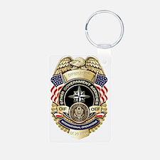 OGA Badge Keychains