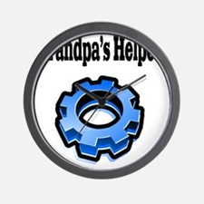grandpas helper gear Wall Clock