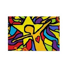 2-dream in color1 Rectangle Magnet