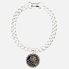 bism_gold_filla_on_blue_ Bracelet
