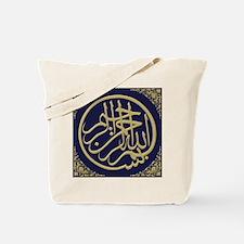bism_gold_filla_on_blue_lg2_10_0 Tote Bag