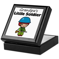 little soldier boy Keepsake Box