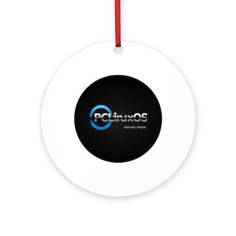 PCLinuxOS Round Ornament