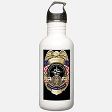 2-OGA Badge Sticker Water Bottle