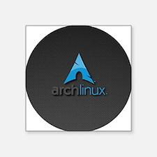 "PK0043-archlinux Square Sticker 3"" x 3"""