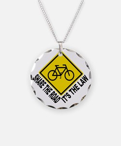 Share the road - its the law Necklace