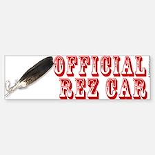Official Rez Car Bumper Bumper Bumper Sticker