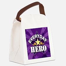 everydayheromouse Canvas Lunch Bag