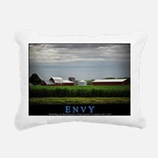 Envy Rectangular Canvas Pillow