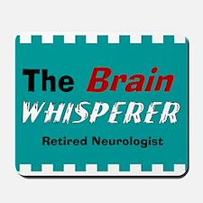 The Brain Whisperer Blanket Mousepad
