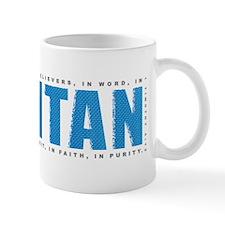 Label_Puritan_1tim4_blue_onBlack Mug