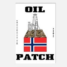 Norway Oil Patch 2a BC us Postcards (Package of 8)