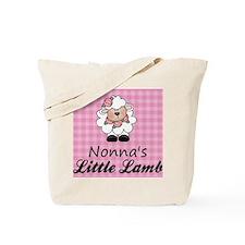 little lamb girl Tote Bag
