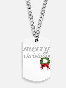 merry christmas Dog Tags