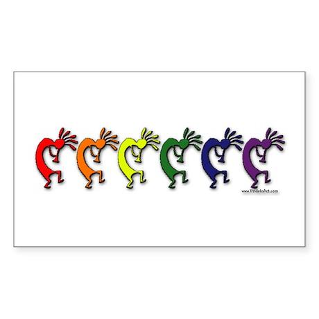 Pride Dance Rectangle Sticker
