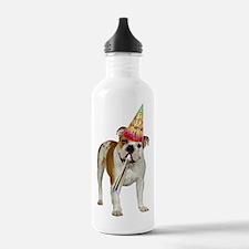FIN-bulldog-puppy-birt Water Bottle