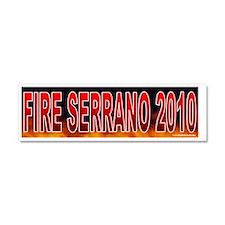 NY SERRANO Car Magnet 10 x 3