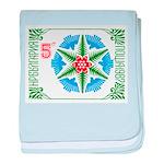 1987 Bulgaria Holiday Snowflake Postage Stamp baby