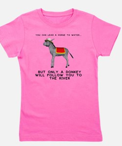 T0035A-DonkeyToRiver-2000x2000 Girl's Tee