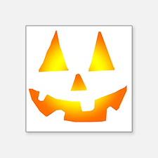 "Jacko Face Square Sticker 3"" x 3"""
