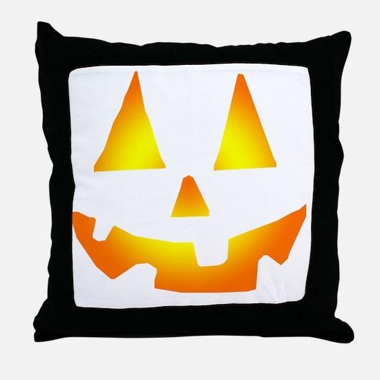 Jacko Face Throw Pillow