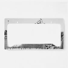 w wilson large framed print License Plate Holder